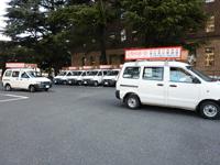 名古屋市長選挙の広報車(宣伝カー)