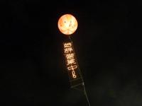 夜に目立つ集客には夜光アドバルーンがオススメ!!